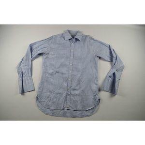 Burberry London Mens Casual Dress Shirt Size 16
